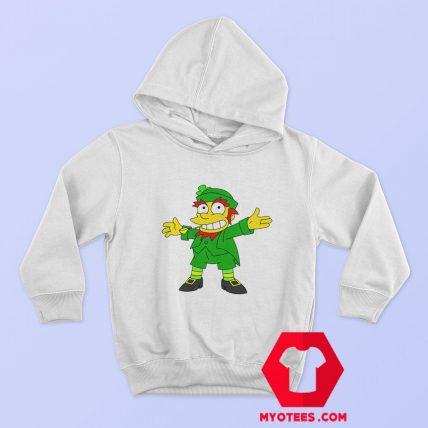 Funny Mad Demon Simpson Ireland Leprechaun Hoodie