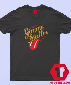 Gimme Shelter Rolling Stones Unisex T shirt