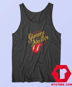 Gimme Shelter Rolling Stones Unisex Tank Top
