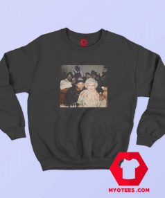 Golden Girl Betty White Vintage Unisex Sweatshirt