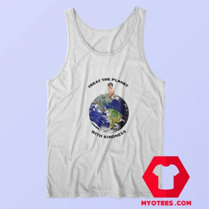 Harry Styles Treat The Planet With Kindness Tank Top