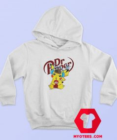 Hot Detective Pikachu Drinking Dr Pepper Hoodie