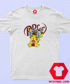 Hot Detective Pikachu Drinking Dr Pepper T Shirt