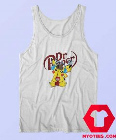 Hot Detective Pikachu Drinking Dr Pepper Tank Top