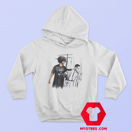 I Know My Rights Colin Kaepernick and Malcolm Hoodie