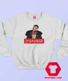 J Cole Biggie Jay z 21 Savage Hip Hop Sweatshirt
