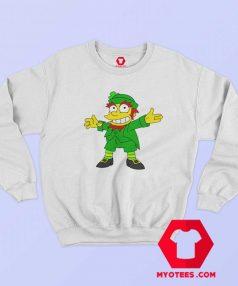 Mad Demon Simpson Ireland Leprechaun Sweatshirt