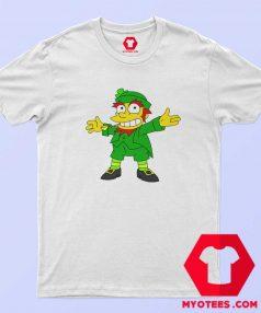 Mad Demon Simpson Ireland Leprechaun T shirt