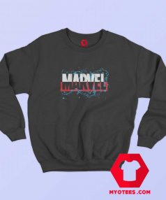 Marvel Drips Logo Graphic Sweatshirt