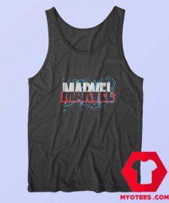 Marvel Drips Logo Graphic Tank Top