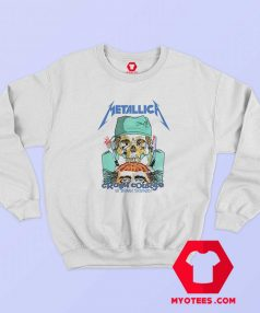 Metallica Crash Course In Brain Surgery Sweatshirt