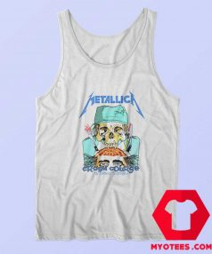 Metallica Crash Course In Brain Surgery Tank Top