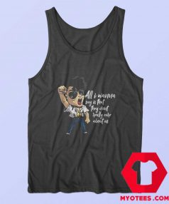 Michael Jackson They Dont Really Care About Us Tank Top