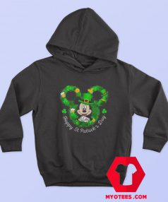Mickey Mouse Happy St. Patrick's Day Hoodie