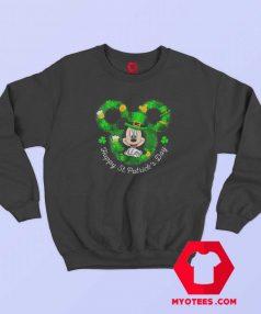 Mickey Mouse Happy St. Patrick's Day Sweatshirt