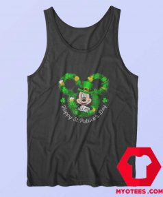 Mickey Mouse Happy St. Patrick's Day Tank Top