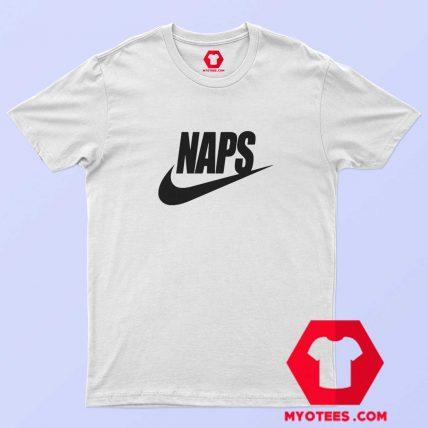 Naps Nike Parody Unisex T shirt Cheap