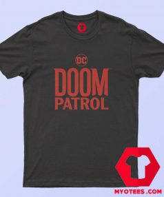 New Doom Patrol Logo Graphic T shirt