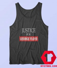 New Justice for George Floyd Unisex Tank Top