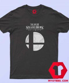 New Super Smash Bros Ultimate Logo T shirt