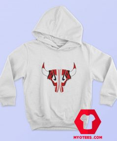 Nike Air Jordan Chicago Bulls Sneaker Horns Hoodie