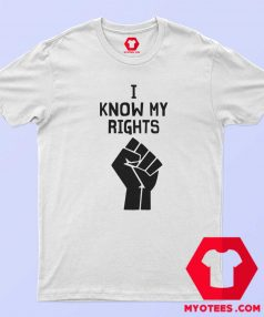 Official Hand I Know My Rights T shirt Cheap