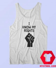 Official Hand I Know My Rights Tank Top Cheap