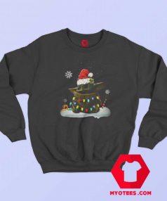 Official Santa Baby Yoda Christmas Light Sweatshirt