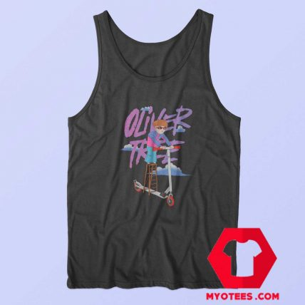 Oliver Tree Cartoon Scooter Unisex Tank Top