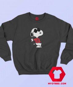 Peanuts Joe Cool Snoopy Peanuts Graphic Sweatshirt