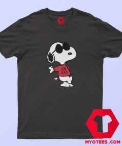 Peanuts Joe Cool Snoopy Peanuts Graphic T shirt