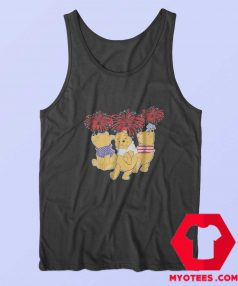 Pooh Firework American Flag Independence Tank Top