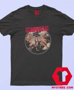 Scorpions Album World Wide Live T-shirt