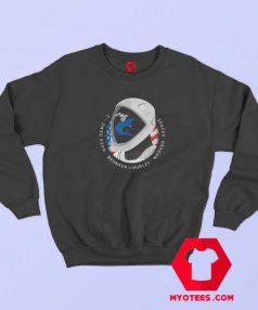 SpaceX NASA Crew Dragon Flag US Sweatshirt
