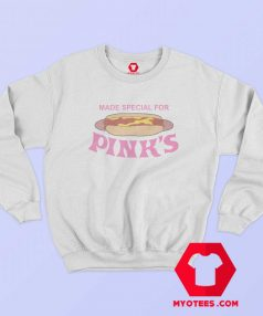 Special Pink Hot Dog Sweatshirt On Sale