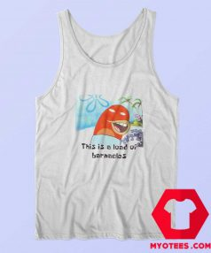 SpongeBob SquarePants This Is A Load Of Barnacles Tank Top