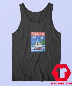 Supreme Sailboat Unisex Tank Top
