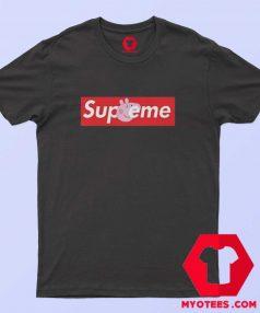 Supreme X Peppa Pig Parody Unisex T shirt
