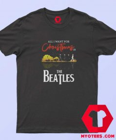 The Beatles I Want For Christmas Unisex T Shirt