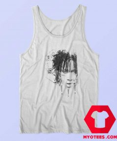 Trippie Redd Black White Sketch Unisex Tank Top