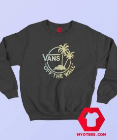 Vans Off The Walk Black Mini Dual Palm Sweatshirt