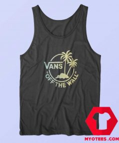 Vans Off The Walk Black Mini Dual Palm Tank Top