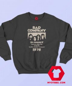 Vintage Bad Company in Concert 1976 Sweatshirt