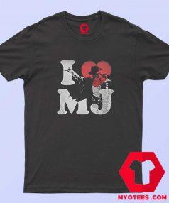 Vintage Michael Jackson I Love Mj Unisex T shirt