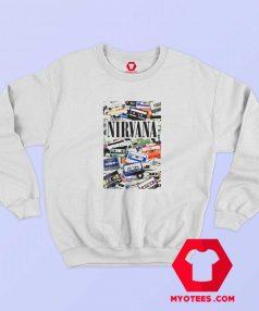 Vintage Nirvana Cassette Tape Unisex Sweatshirt