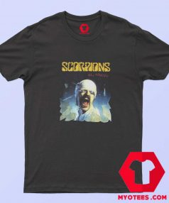 Vintage Scorpions Blackout 82 Graphic T shirt