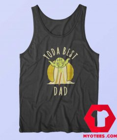 Vintage Star Wars Yoda Best Dad Unisex Tank Top