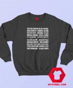 We Can't Breathe Trayvon Martin Sweatshirt
