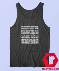 We Can't Breathe Trayvon Martin Unisex Tank Top