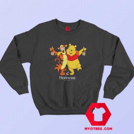 Winnie The Pooh Hennessy Cognag Unisex Sweatshirt